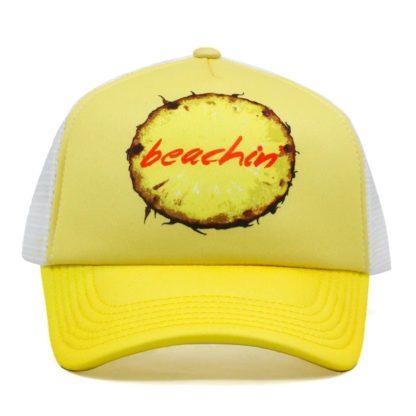 Beachin_yellow_trucker_hat